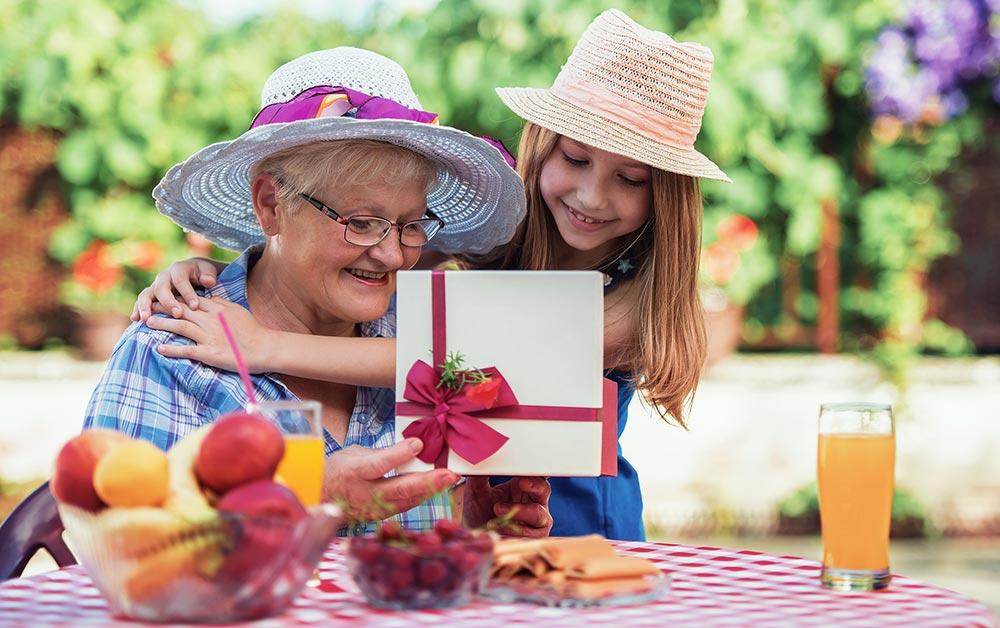 idée de cadeaux pour la fête des grands-mères